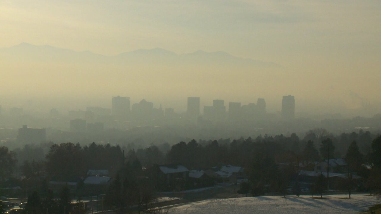 Salt Lake City finishes the day with worst air quality in the country