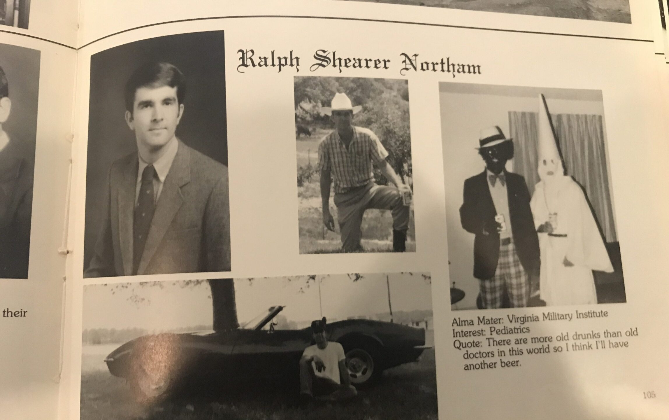 Photos: Watch: Report inconclusive on whether Gov. Northam is in racist yearbookphoto