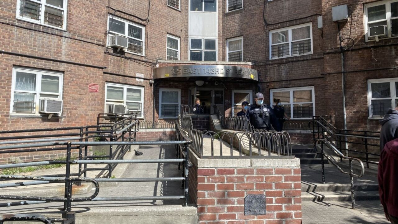 8-year-old girl shot at Patterson Houses in the Bronx