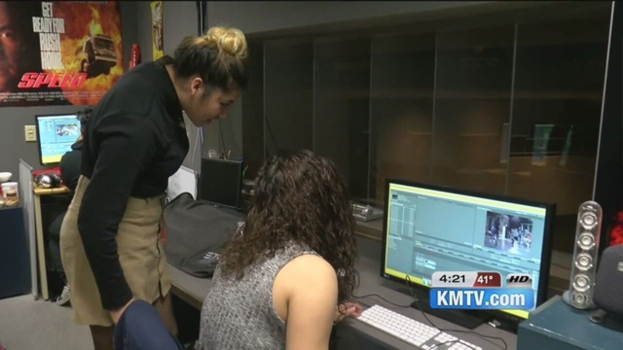 Omaha South's film program a hit with students