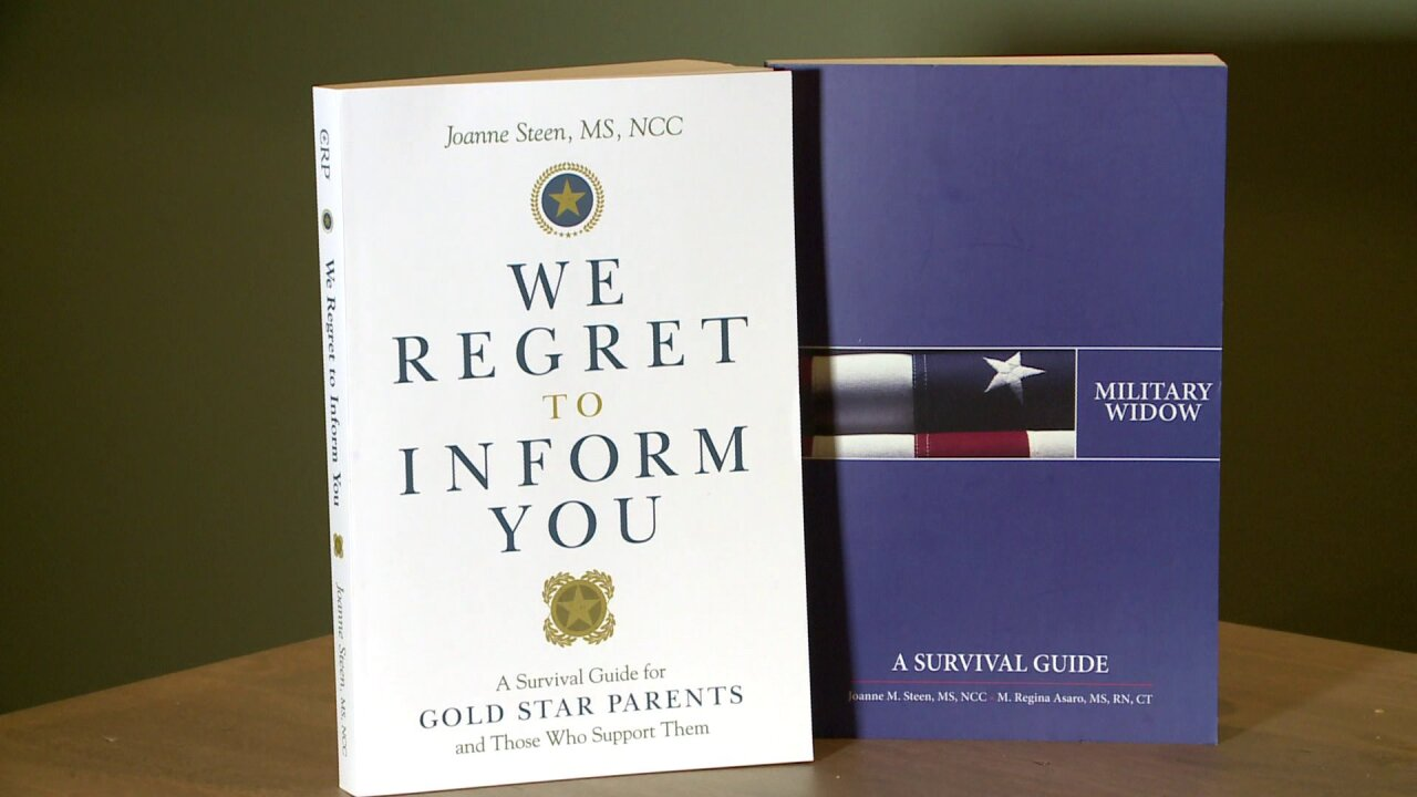 Military widow writes new book for Gold Star families