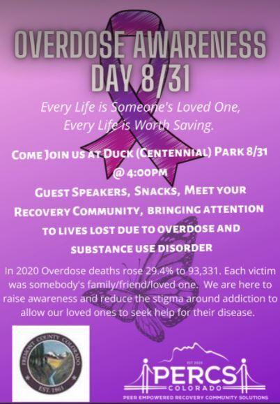 Canon City Overdose Awareness Event