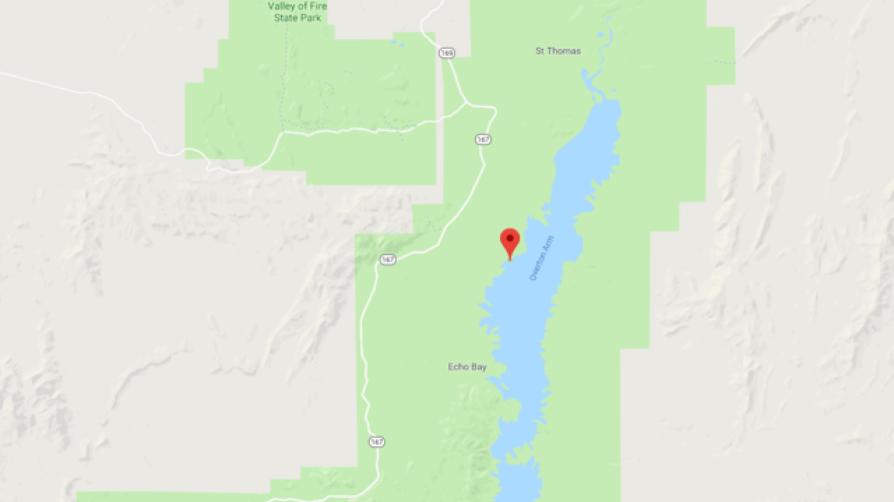 Stabbing in Lake Mead National Recreation Area