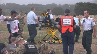 First responders participate in Force Protection Exercise