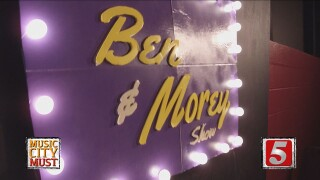 Experience a Live Late-Night Talk Show At The Ben & Morey Show
