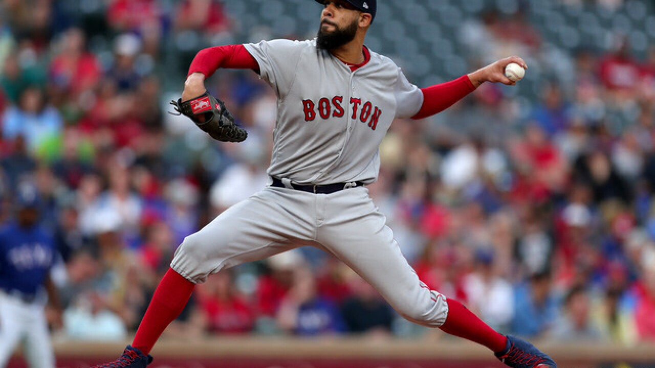 Red Sox pitcher denies Fornite gave him injury