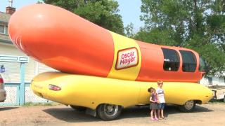 Oscar Mayer Wienermobile visits Great Falls