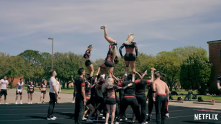 Navarro College could have to give up Netflix series in order to compete in cheerleading competitions
