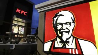 KFC sign in California