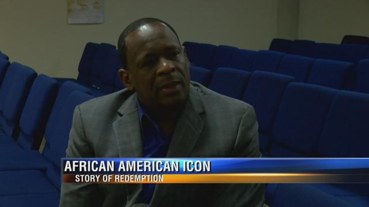 African-American Icons Pastor Gregory James