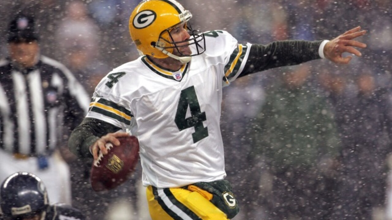 Favre wonders if he really belongs in Hall of Fame