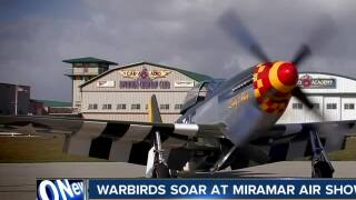 Warbirds soar at Miramar Air Show