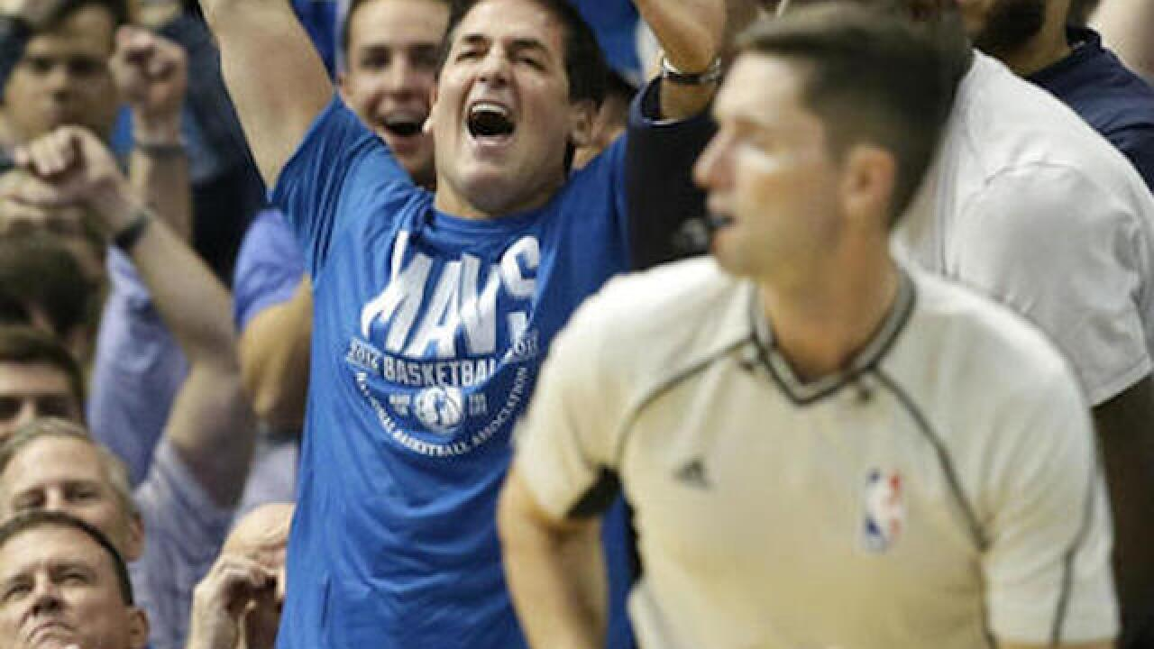 Mavs owner Cuban revokes credentials of 2 ESPN reporters