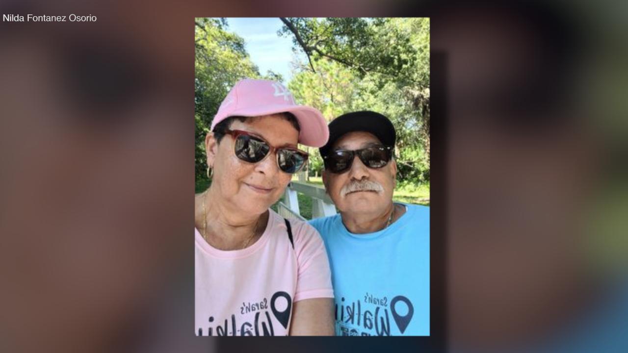 Walking Club Walkers of the Week: Angel and Nilda