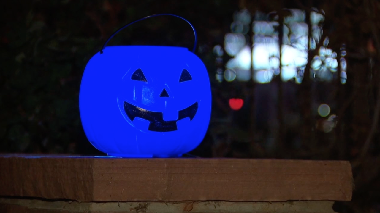 Why blue pumpkin candy buckets are dividing the autism community