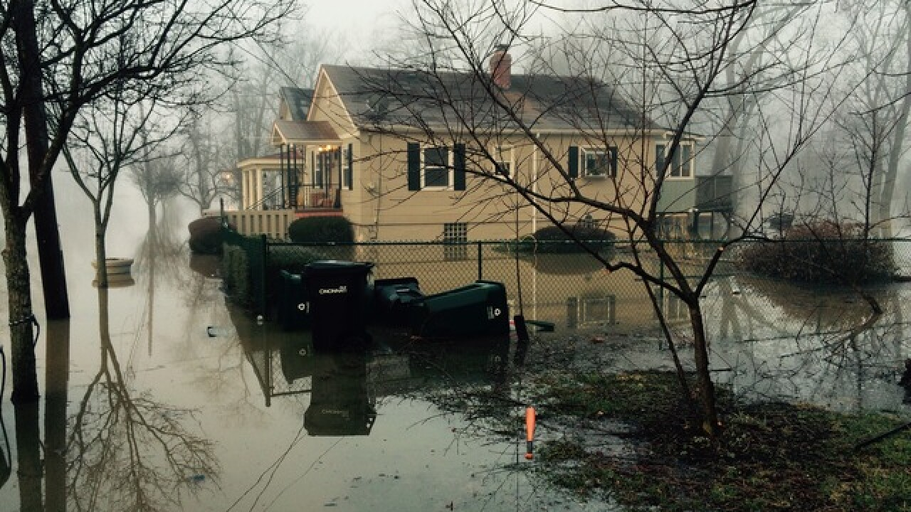 PHOTOS: Pouring rain brings floods to Tri-State