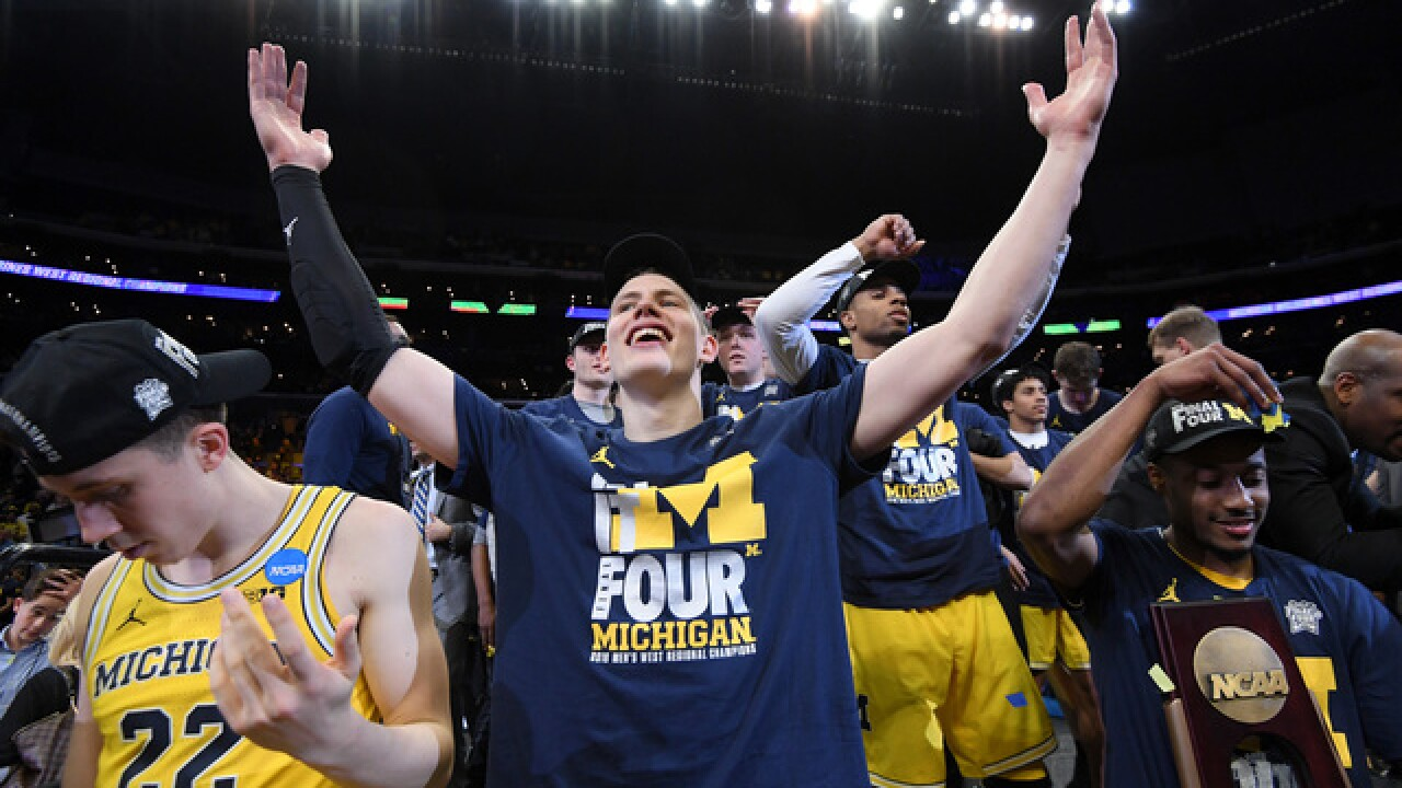Michigan's Moe Wagner brings emotion, exuberance to Final Four