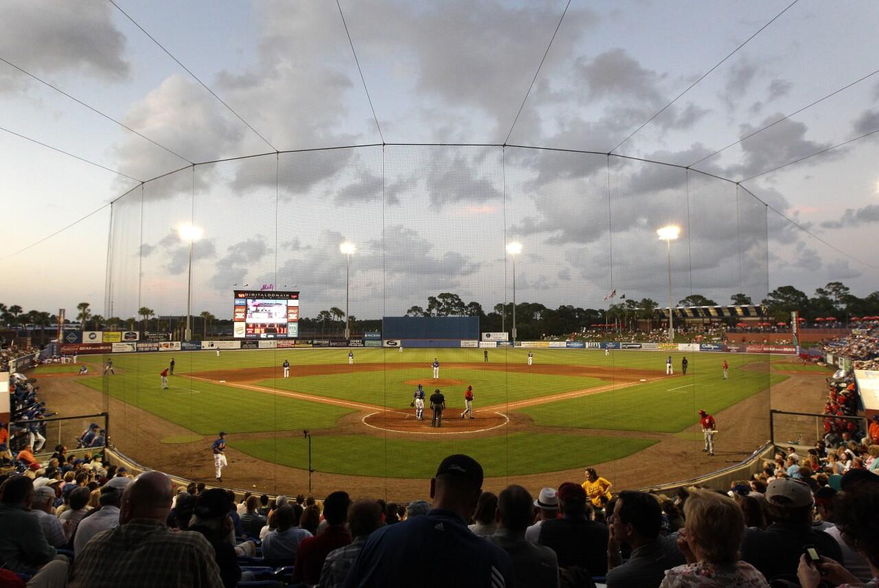 Digital Domain Stadium in Port St. Lucie in 2012