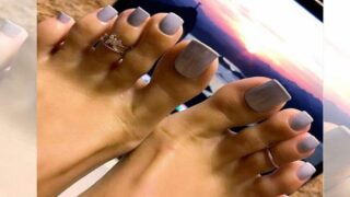 Apparently, Long, Fake Toenails Are A Trend This Summer