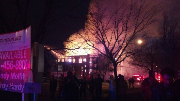 Photos: Photo gallery: 4-alarm fire visible from all around the Salt LakeValley