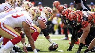 San Francisco 49ers vCincinnati Bengals