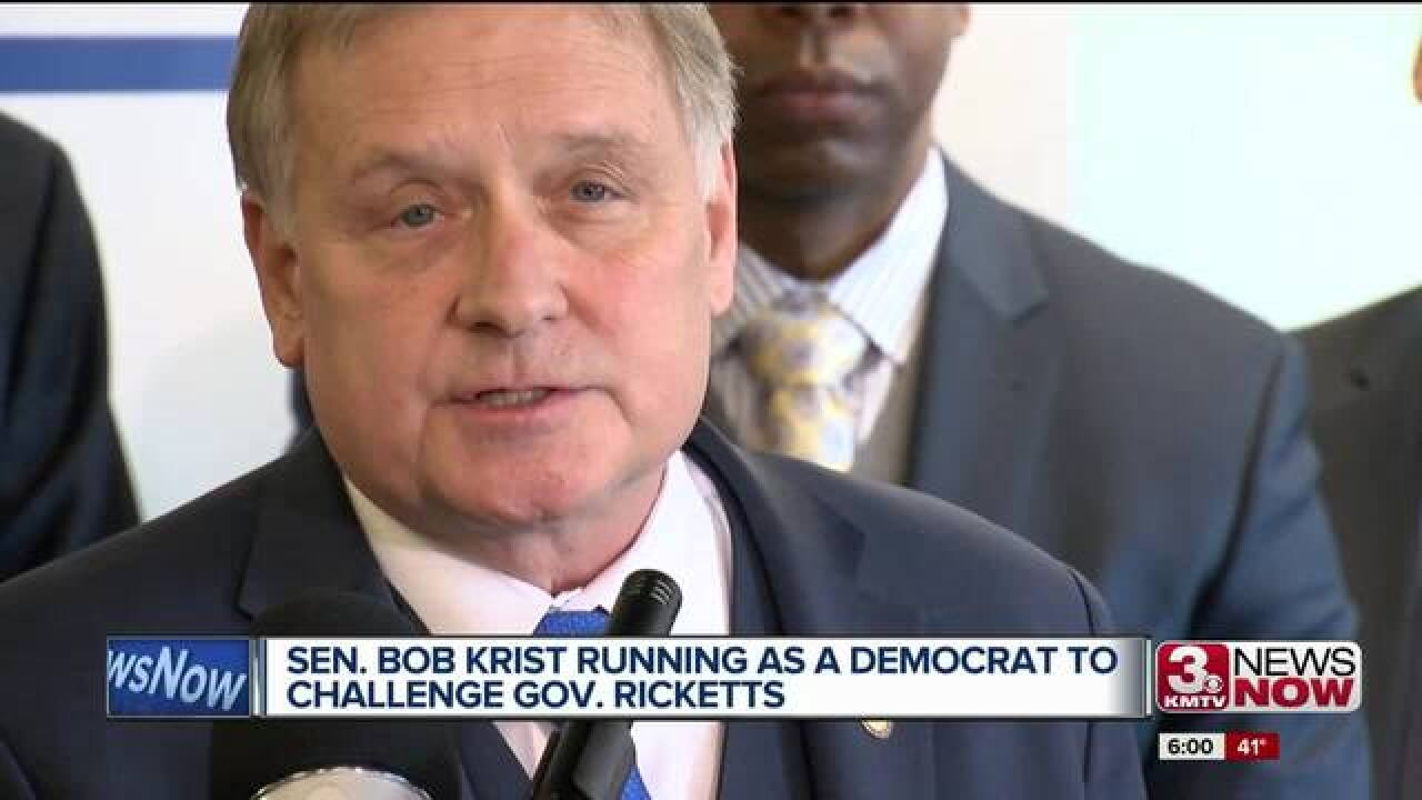 Bob Krist to become Democrat