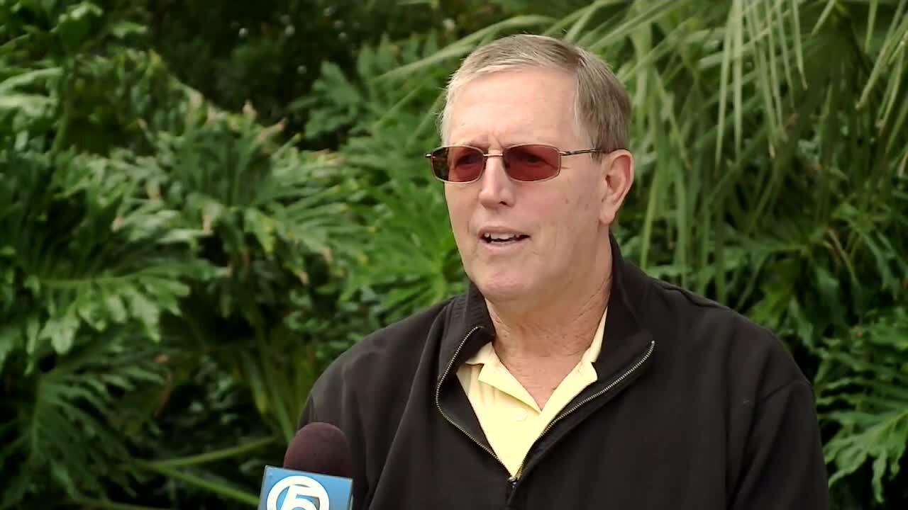 Brett Sorge, 73-year-old West Palm Beach man still waiting on COVID-19 vaccine