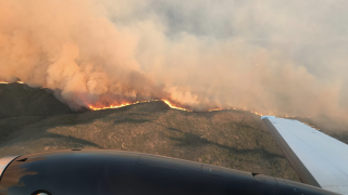 Cellar Fire spreads over 7,000 acres just 16 miles south of Prescott