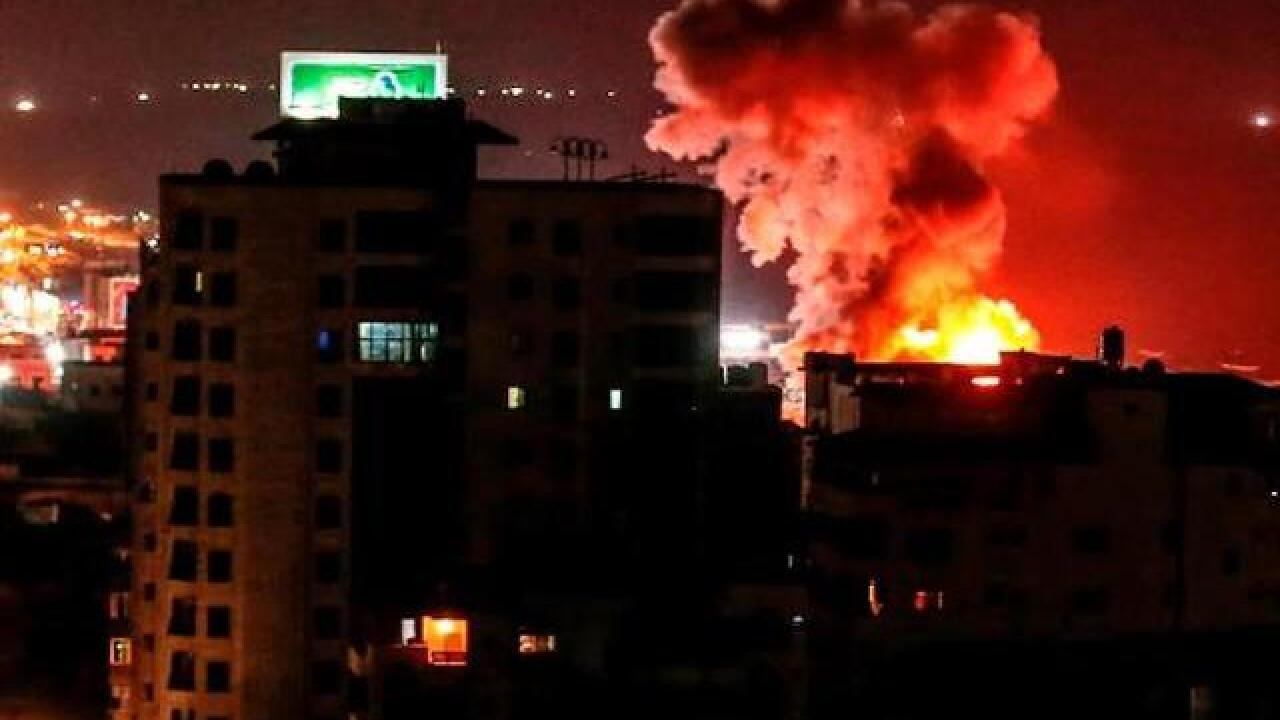 Israel and Hamas exchange fire in sudden Gaza escalation