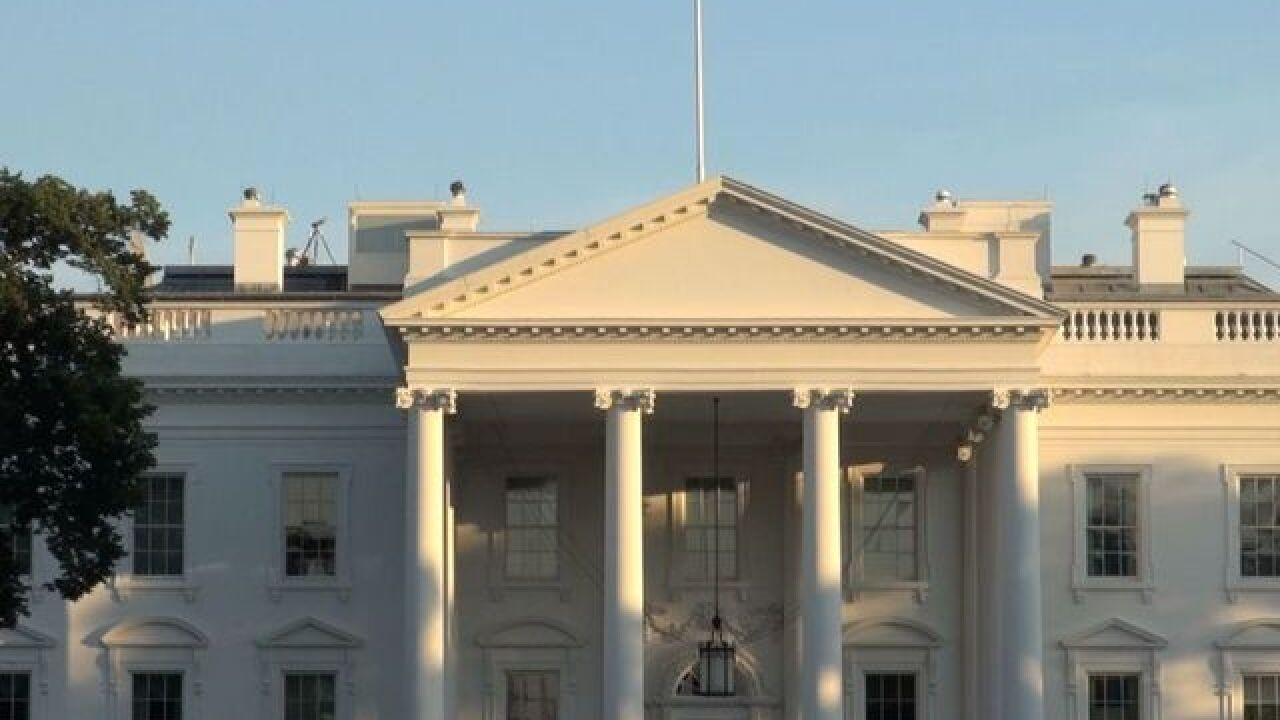 White House put on lockdown on Memorial Day