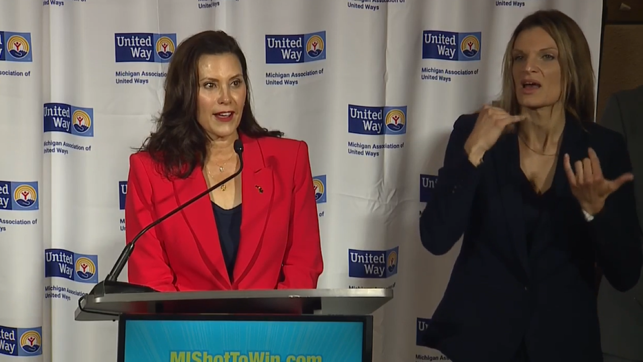 Governor Gretchen Whitmer announces MI Shot to Win program
