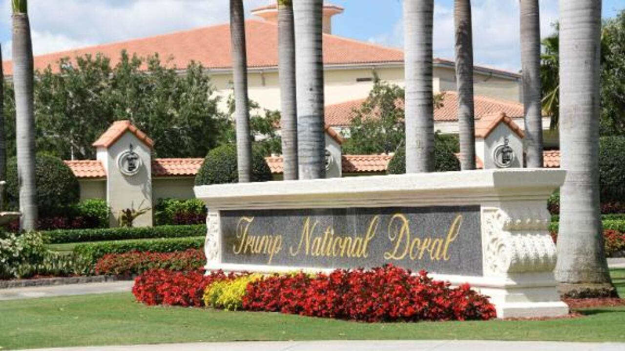 Trump now says his Florida resort won't host G7 summit