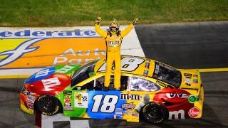 Kyle Busch wins NASCAR Cup Series playoff race at Richmond