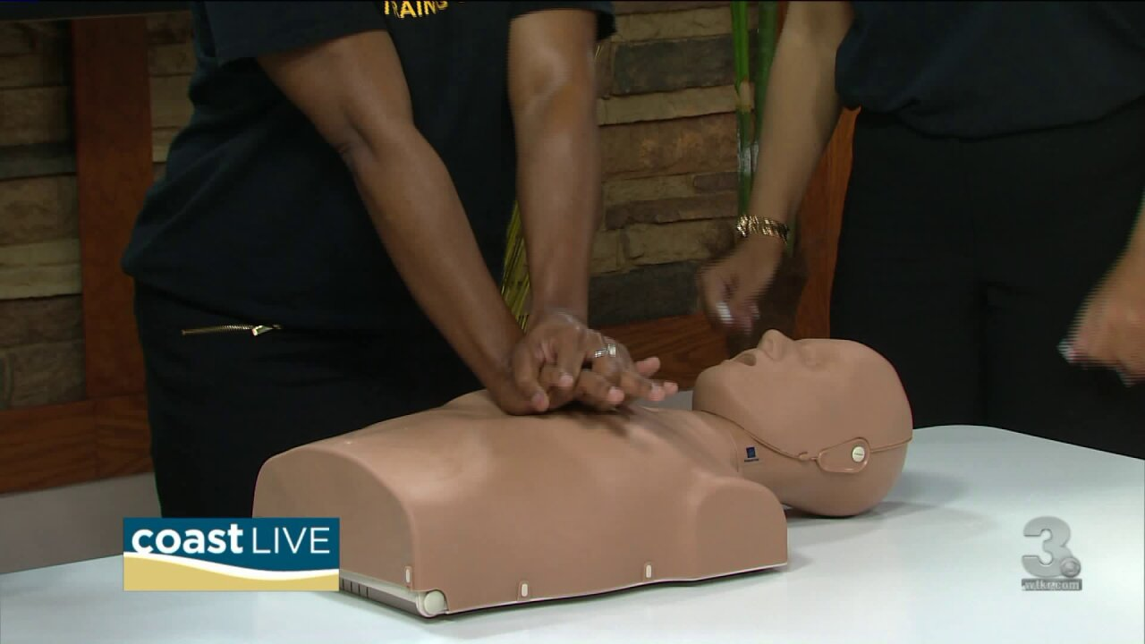 Learning CPR with the experts at WeCare Training on Coast Live
