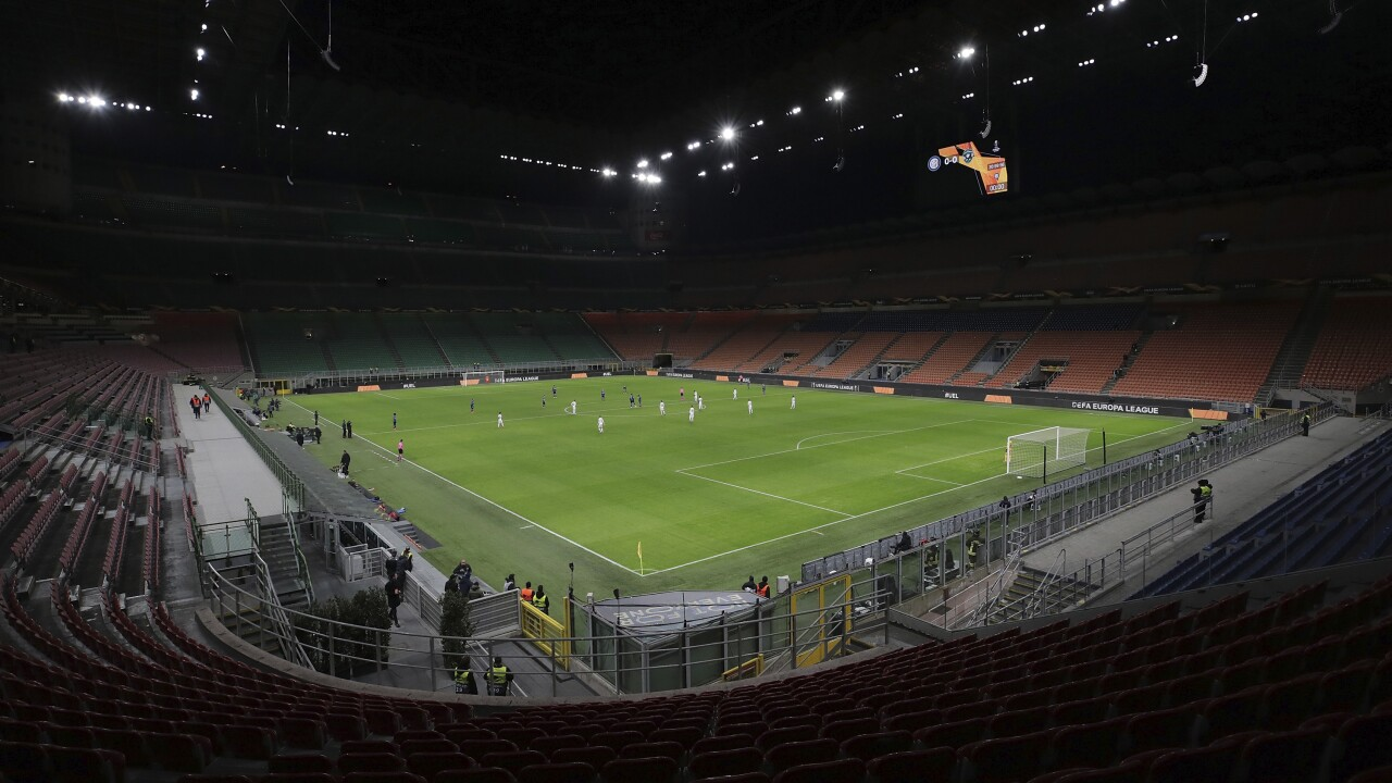 Italian sporting events to take place without fans until April 3 amid coronavirus outbreak