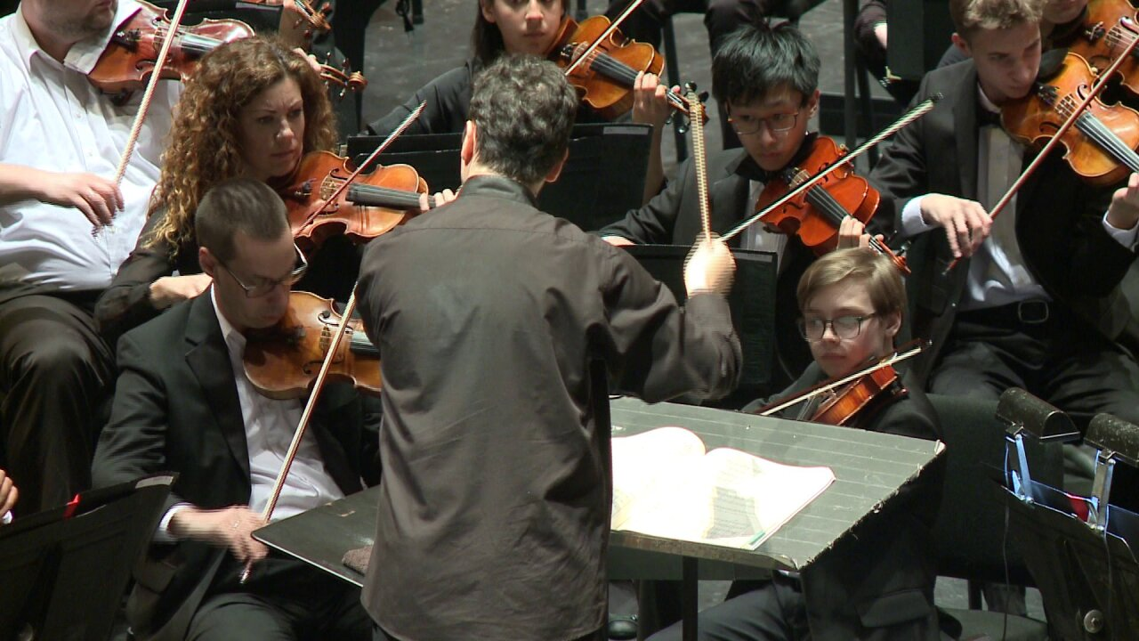 Local students perform with Virginia Symphony at Sandler Center, continuing 20-yeartradition