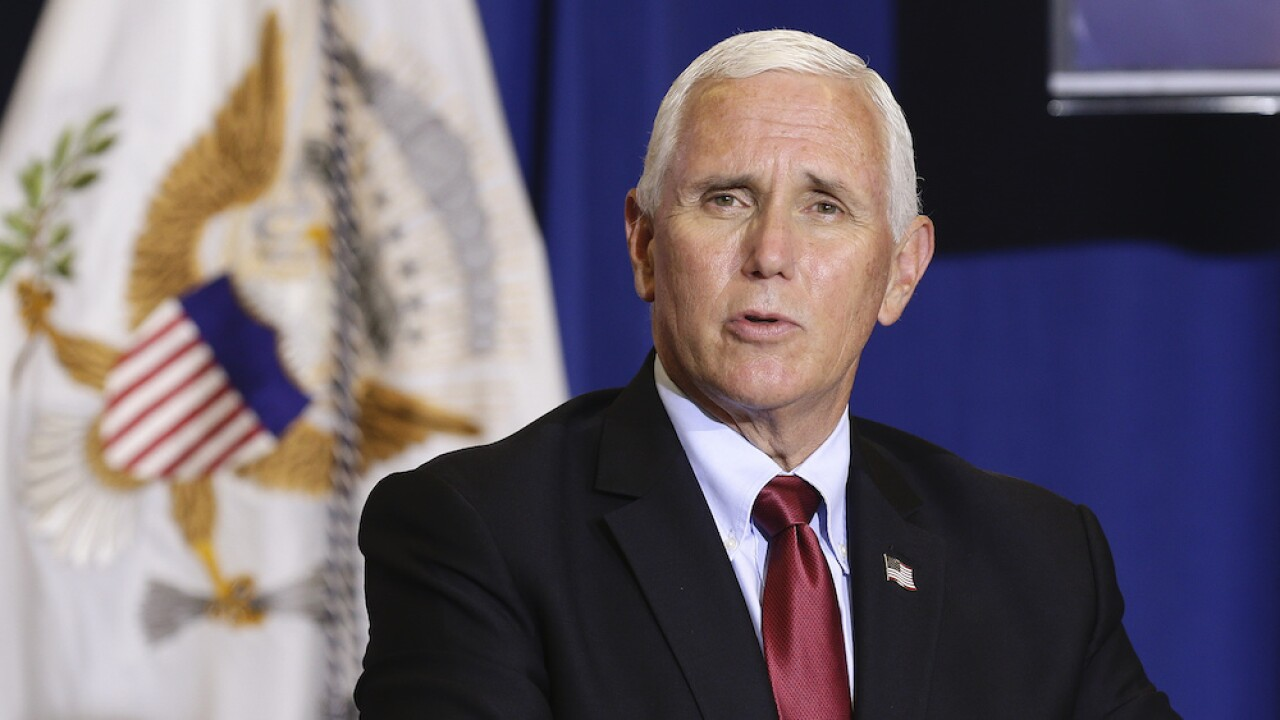 Pence's motorcade involved in two accidents near Pittsburgh, Vice President uninjured