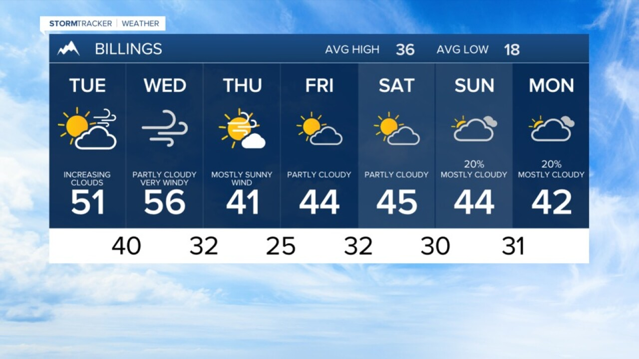 7 DAY FORECAST TUESDAY JAN 12, 2021