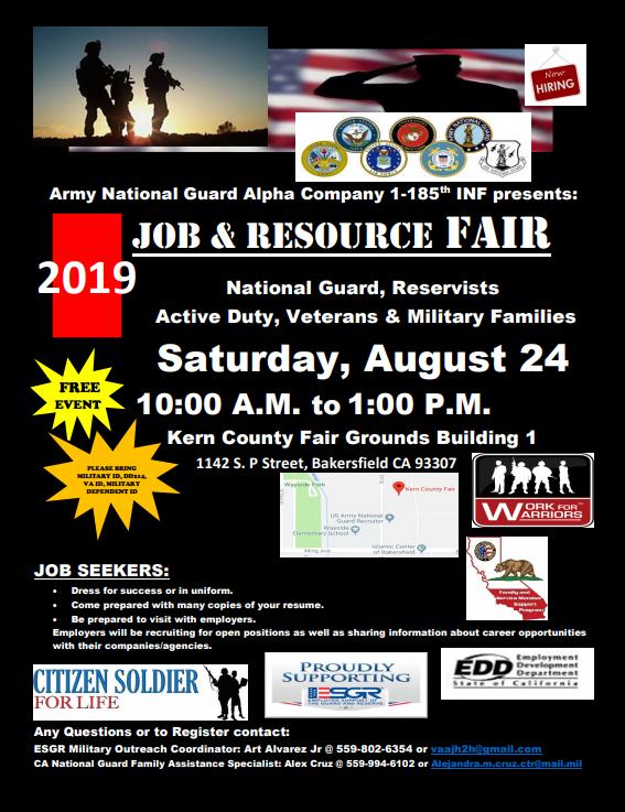 2019 Job and Resource Fair