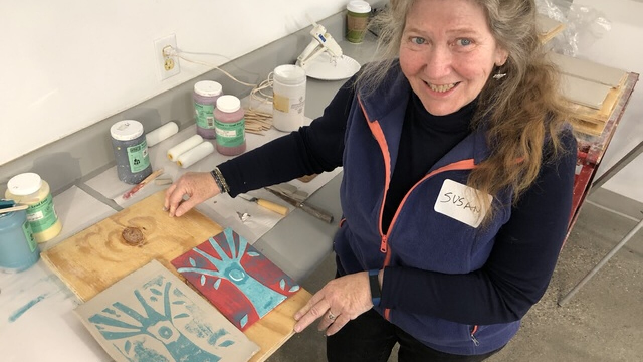 "Art program helps caregivers get some ""me time"""