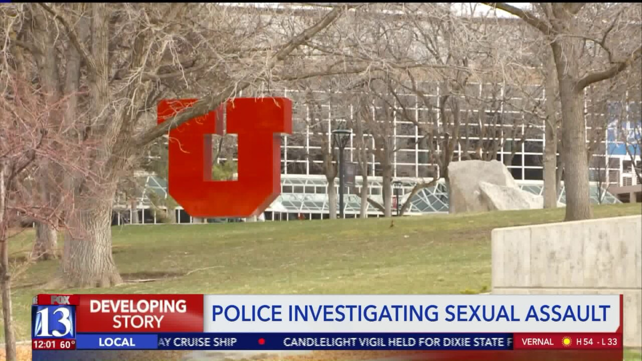 University of Utah Police investigating reported sexual assault oncampus