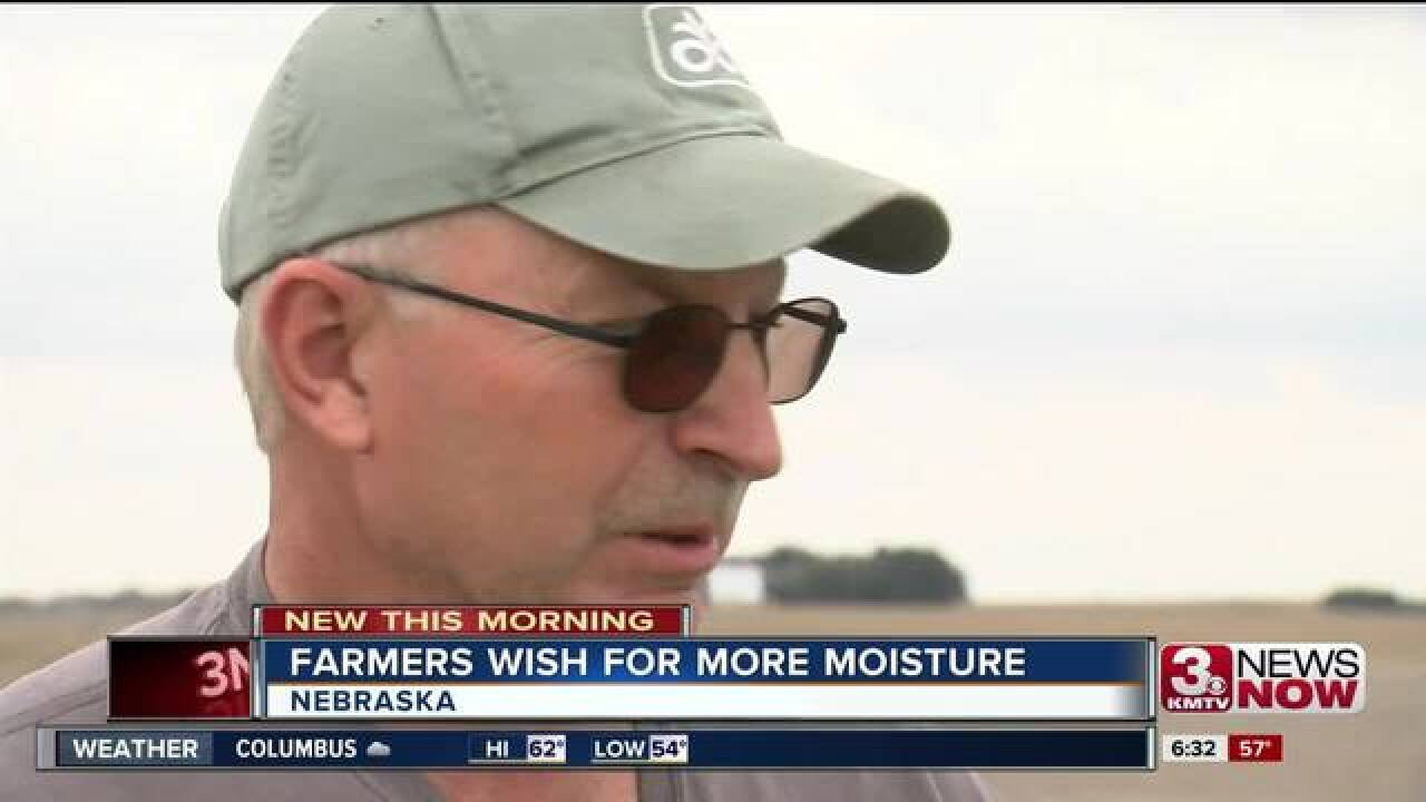 Area farmers hoping for moisture in May