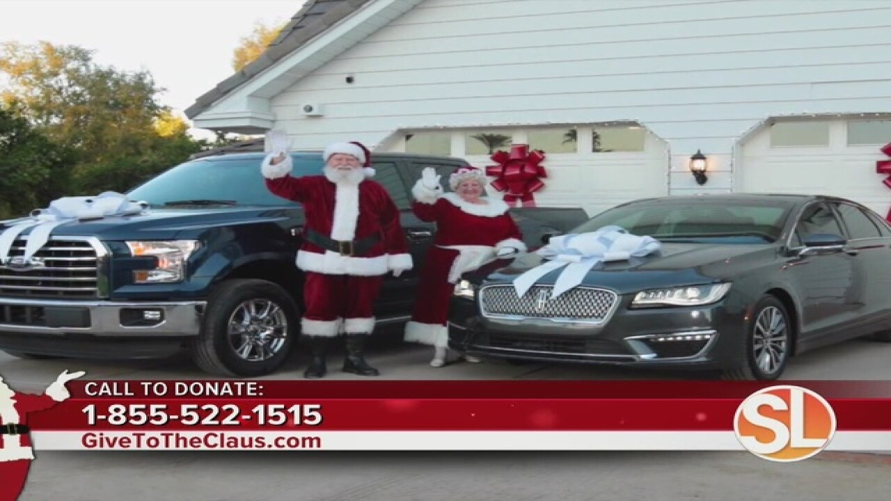 WEDNESDAY: Donate to ABC15's Claus-A-Thon