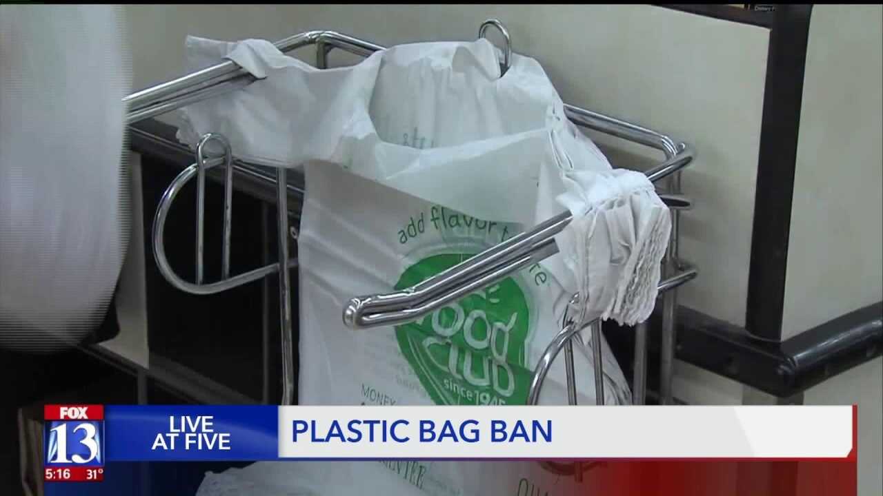 A new ban on plastic bags up in Logan City will not just affect those going to a grocerystore