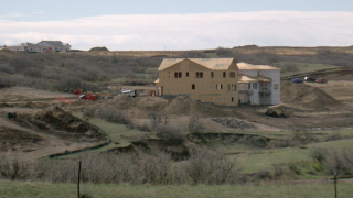 The Canyons development in Castle Pines