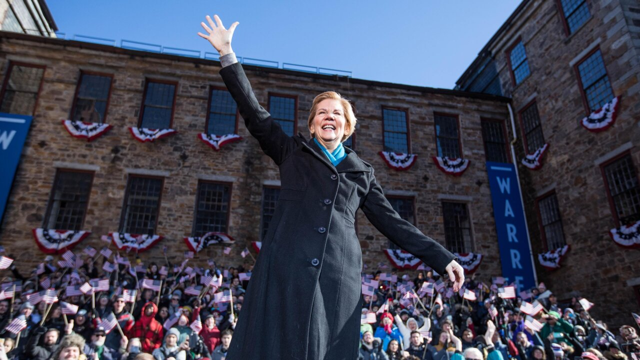 Elizabeth Warren on whether she regrets not running in 2016: 'You can't go back'