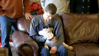 Drew Allen Adpots Dog.png