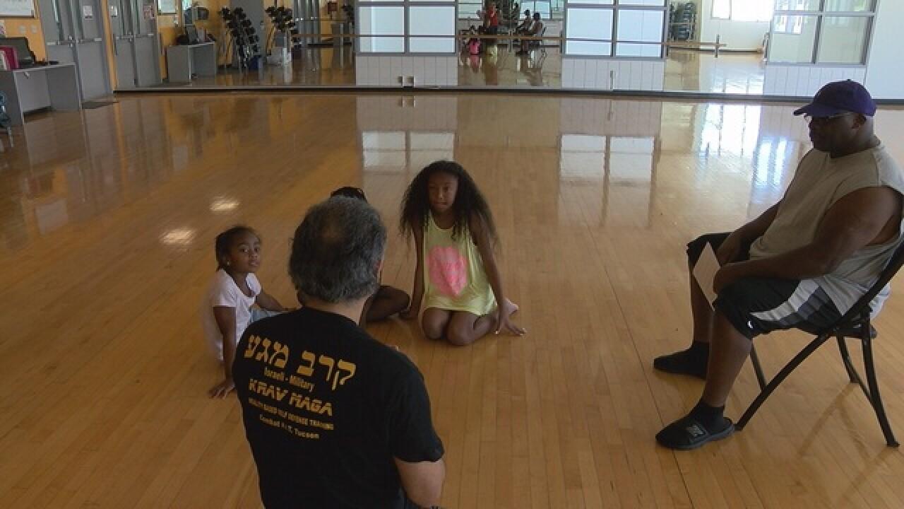 UA offers 'Family Self-Defense' class