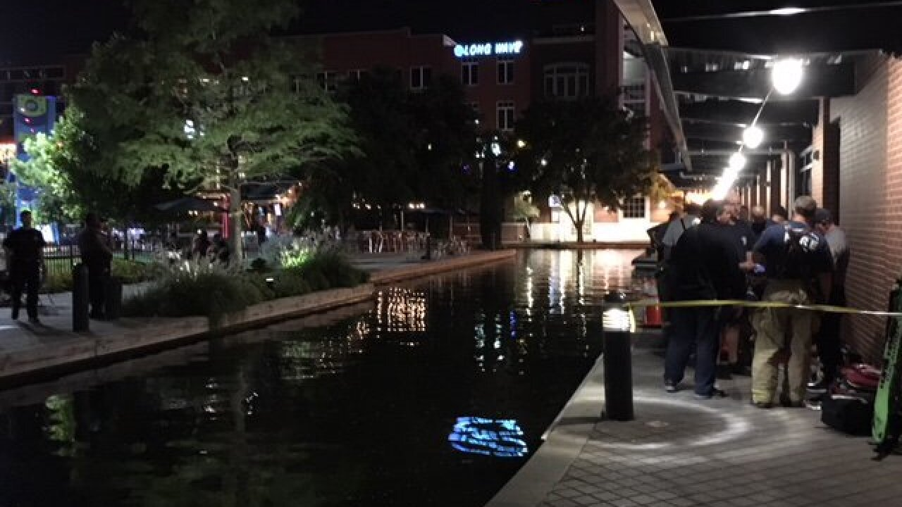 1 dies, 1 in critical condition after being electrocuted in Bricktown canal in Oklahoma City