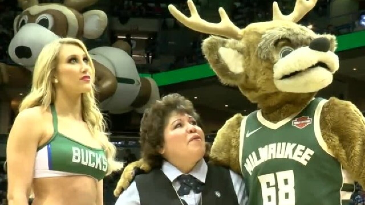 Bucks honor bus driver for saving missing child